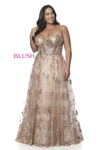 Plus Size Prom Dresses by Blush Prom